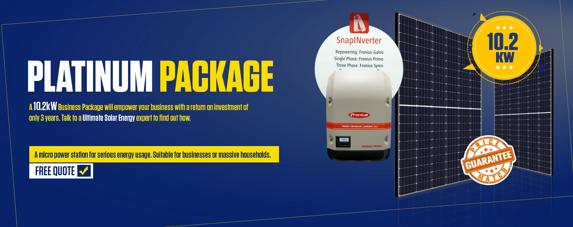 10.2 kW Business Package