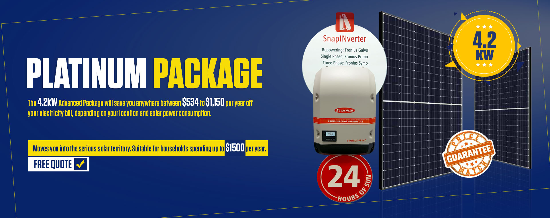 4.2 KW Advanced Package