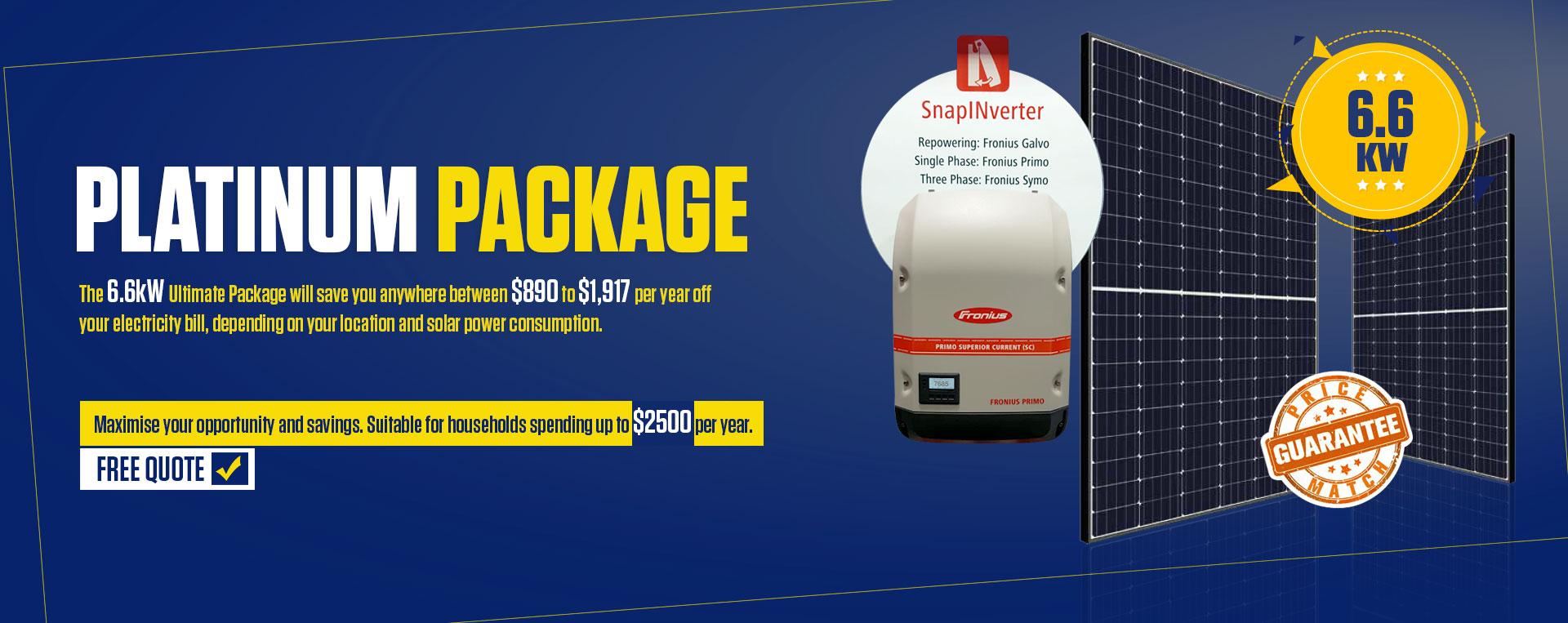 6.6 kW Ultimate Package