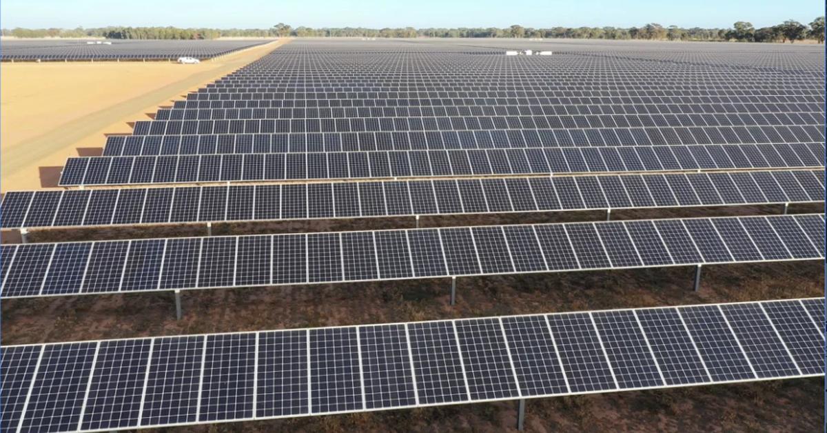 No limits'- Victoria's biggest solar farm paves way for more- new solar farms australia 2019