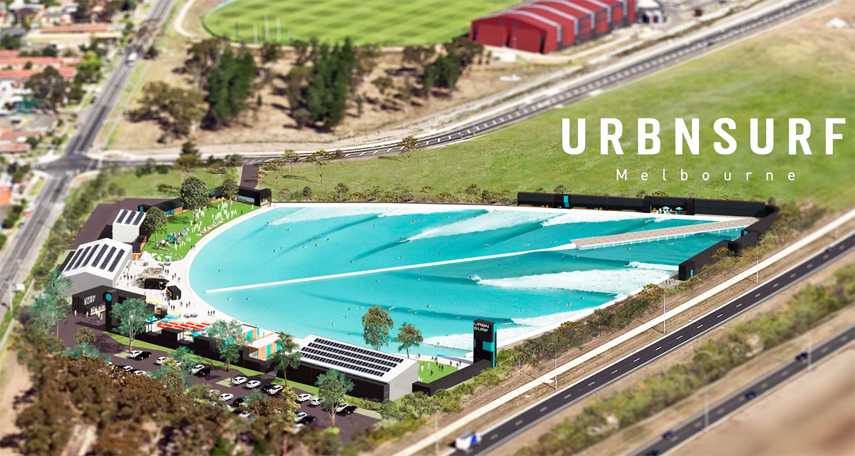 Australia's First Surf Park off the Ground Helped Melbourne Airport.