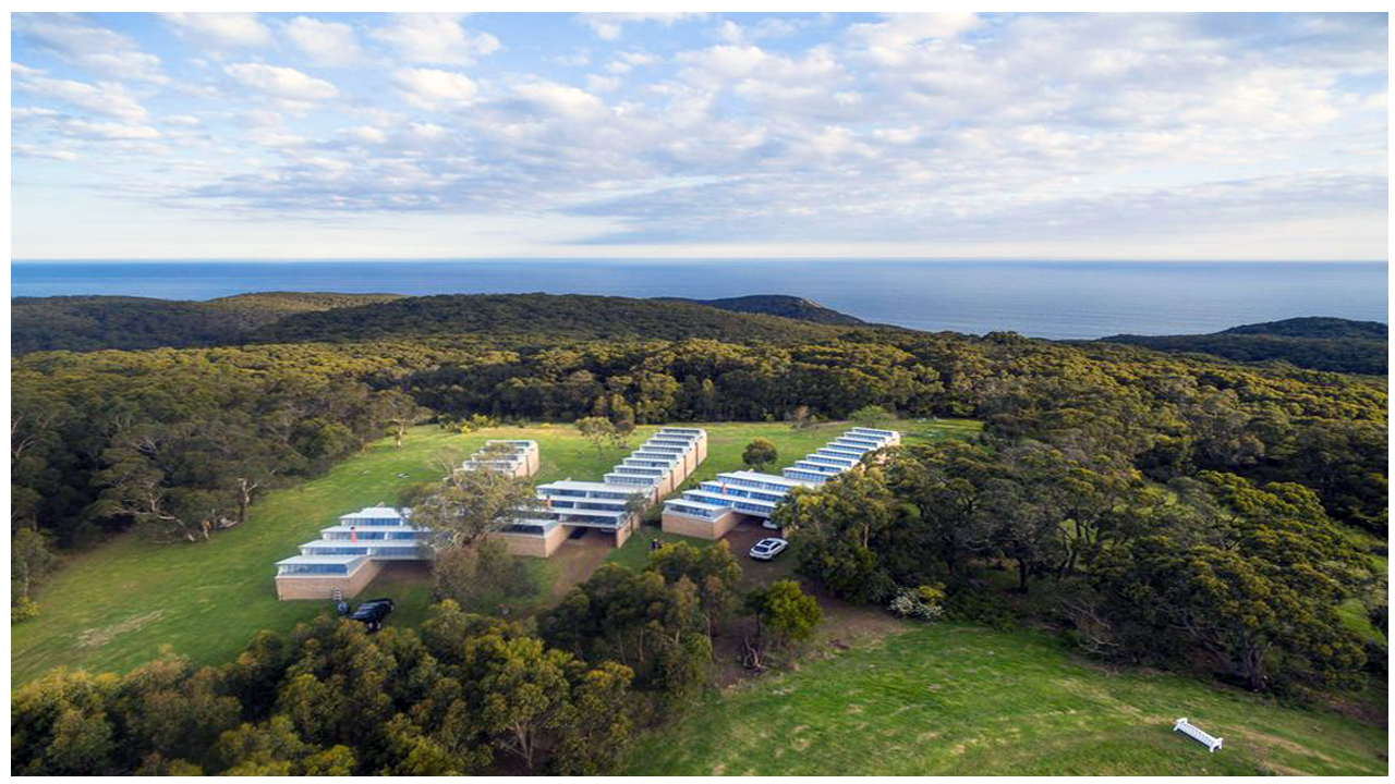Almost self-sufficient eco-resort on the Great Ocean Road hits the market