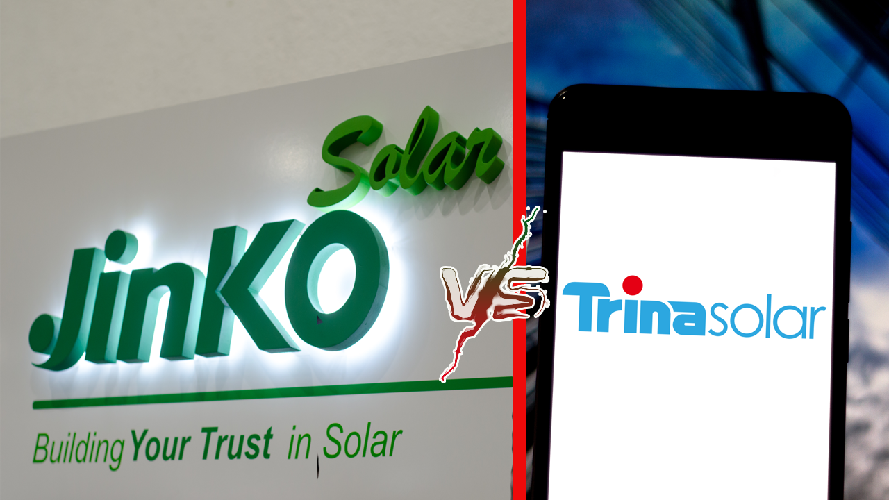 Jinko vs Trina Solar Panels Comparison [2020]