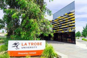 LA trobe university solar panels