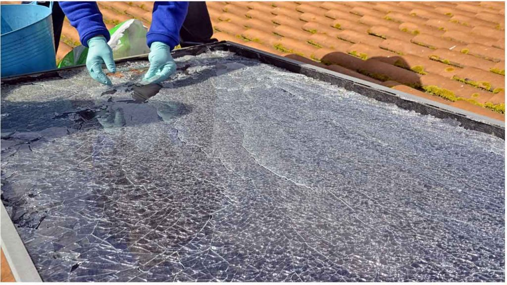 How to protect solar panels from hail